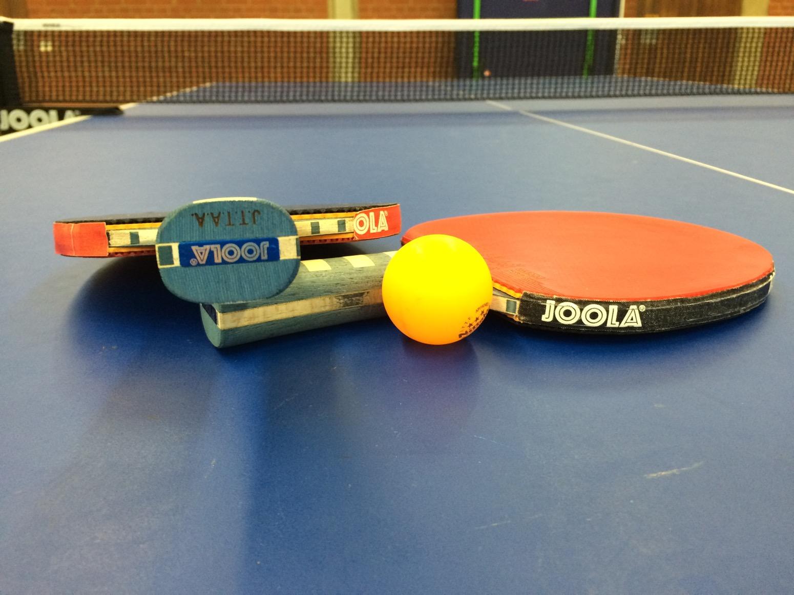 2 Tischtennisschläger