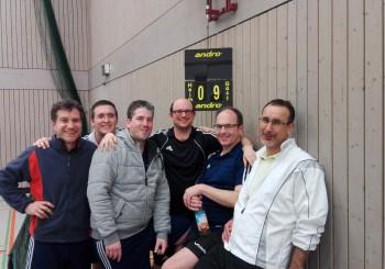 Tischtennis Heimerfolg 2. Mannschaft am 02.03.2017 mit 9:3 und Heimspiel am 09.03.2017