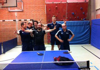 Tischtenniserfolg 1. Mannschaft