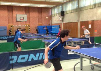 Tischtennistraining ab 02.09.2020 Jugend und Erwachsene